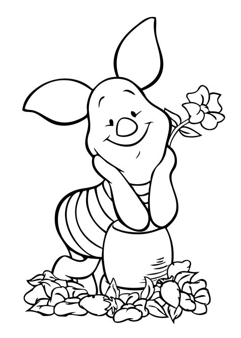 coloring page piglet winnie pooh piglet coloring page coloring pages