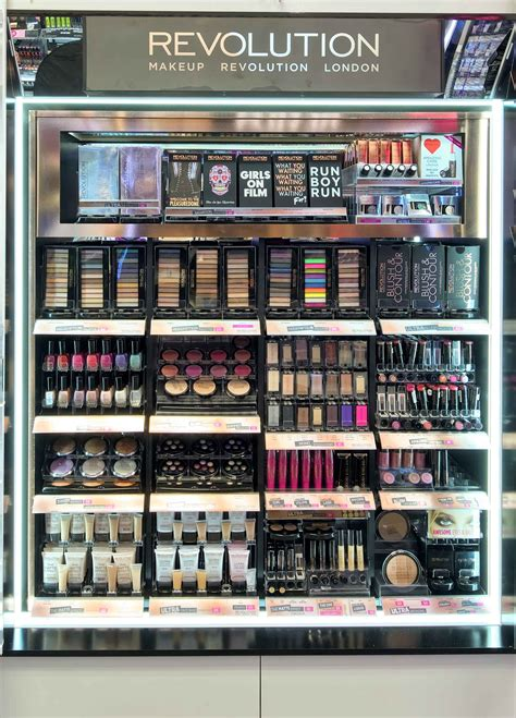 Make Up The Shop makeup revolution now in superdrug list of stores