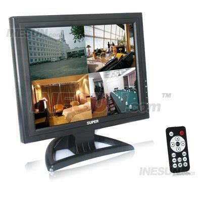 Monitor Lcd Untuk Cctv 15 inch 4 3 security cctv surveillance tft lcd monitor support hdmi port 4 3 display model