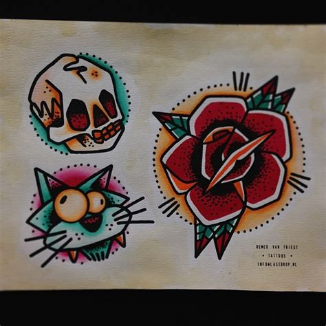 watercolor tattoo utrecht lets do bold tattoos tattooflash tattooing