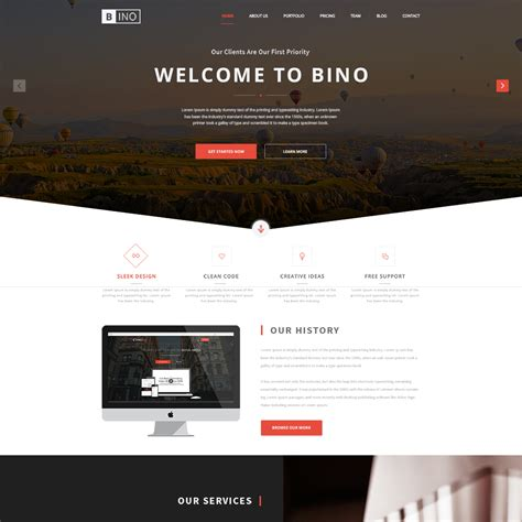 23 Free One Page Psd Web Templates In 2018 Colorlib About Page Template