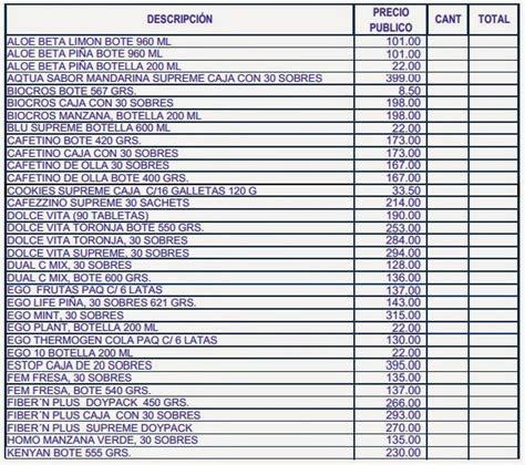 lista de precios de abb en colombia 2014 voltimumcomco lista de precios omnilife 2016 lista de precios omnilife