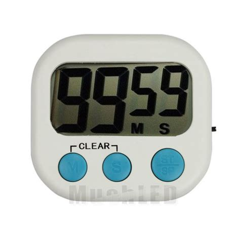 Kitchen Timer With Alarm by Large Lcd Digital Kitchen Cooking Timer Count Up