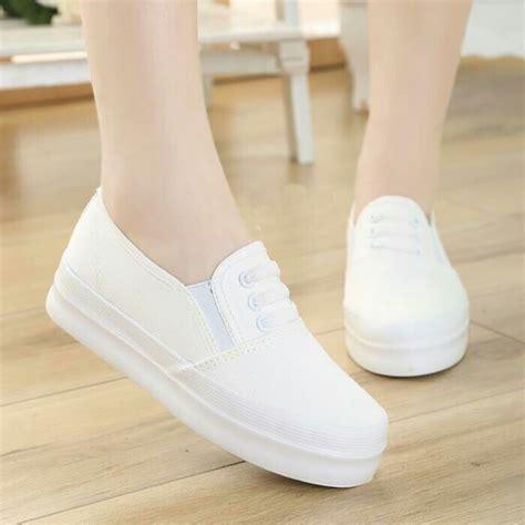 Sepatu Wanita Murah Sepatu Kets Sport High Heels Sneakers Wedges Cewek 255 grosir sepatu wanita putih pusat grosir sandal murah 2018 pusat grosir sandal murah 2018