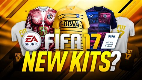 17 best images about www fifa 17 new kits