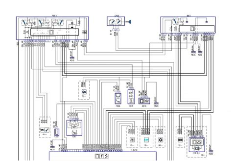 peugeot 307 fuse box lay out wiring diagram