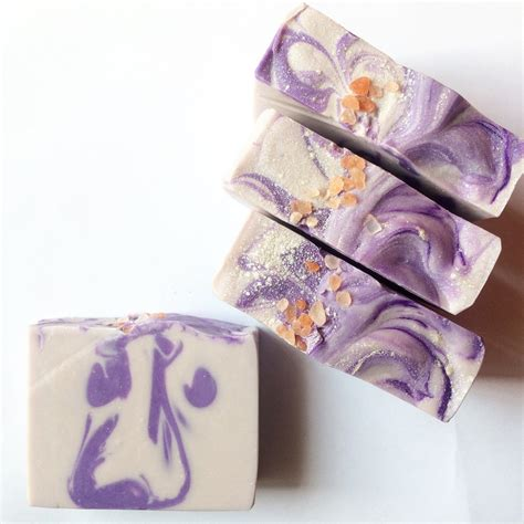 Lavender Handmade Soap - lavender clay handmade soap handmade soap by willowandhoney
