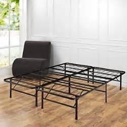 King Size Bed No Box Needed Metal Platform Bed Frame Size Mattress Foundation No