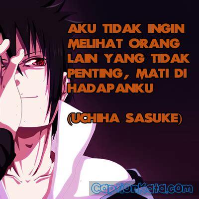 dp bbm kata bijak sasuke gambar meme anime naruto