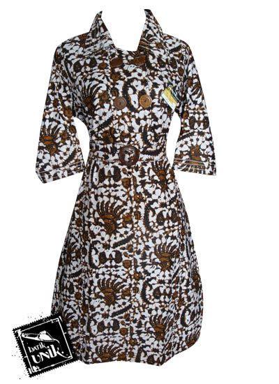 Sx6szgzb77 Dress Motif Etnik Size M Dan Size L baju batik sarimbit motif batik etnik dress murah