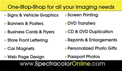 3 5 x2 business card template custom business cards printing spectracolor in simi