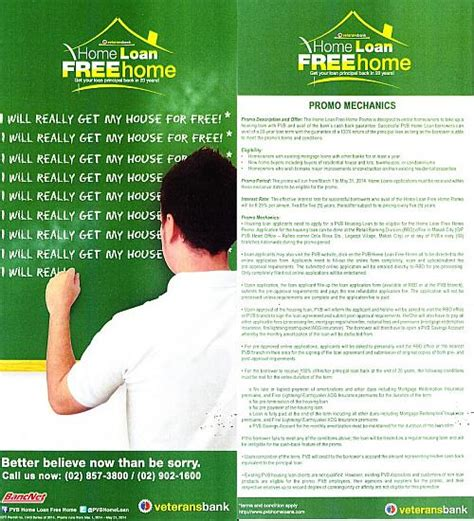 bank housing loan philippines philippine veterans bank s home loan free home promo can you really get your house