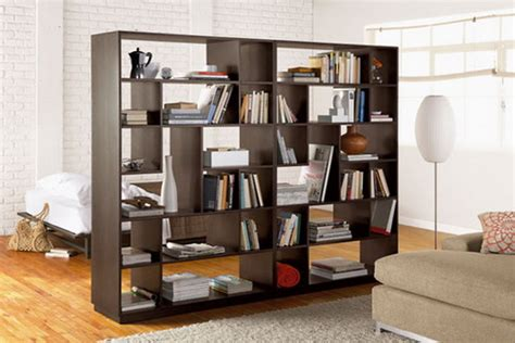Bookcase Room Divider Design Creative Bookcase Room Dividers Idea To Keep Your Rooms Out Of Mess Home Design Ideas