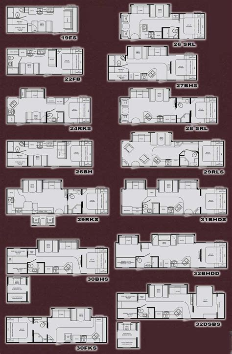North Country Rv Floor Plans | heartland north country travel trailer floorplans large