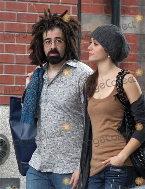 emmy rossum counting crows adam duritz pictures and photos