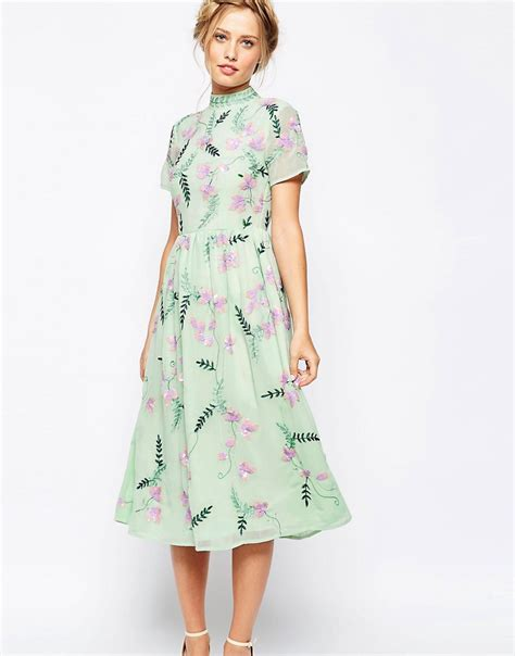 maxi 2in1 mint 1920s style day dresses tea dresses