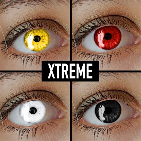 contact lenses for halloween xtremeeyez coloured contact lenses for halloween