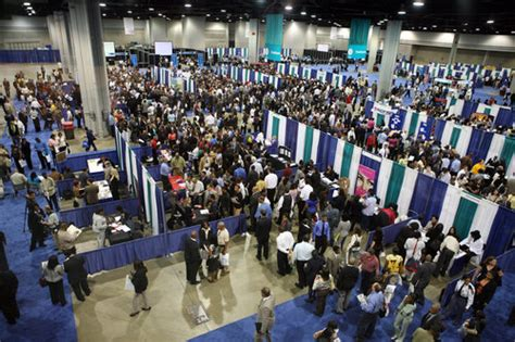 job fair like honey to potential worker bees