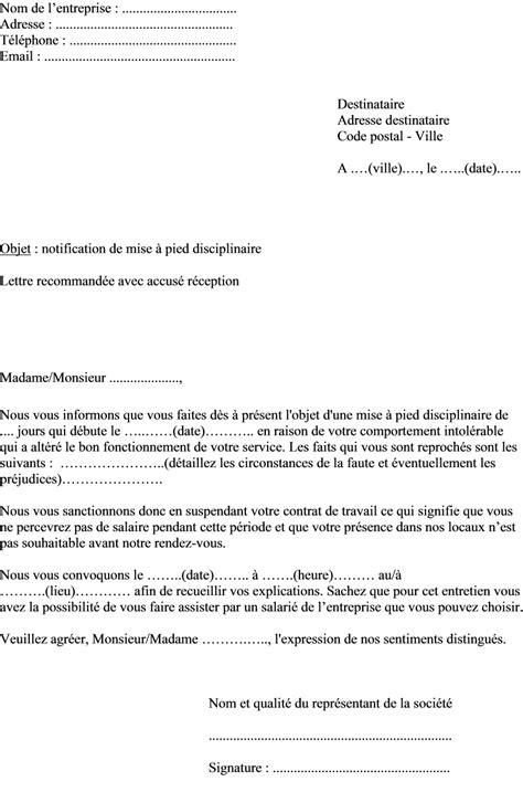 Exemple De Lettre Harcelement Epub Modele Lettre De Licenciement Salarie Cesu