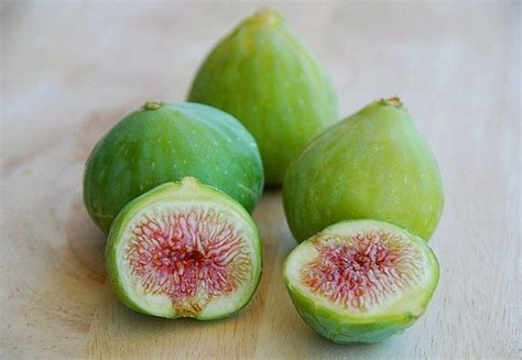 fresh green figs food pinterest