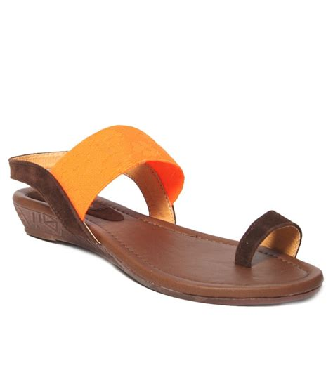 C 328 Footwear Color Brown Size 36 40 pink brown wedges sandals price in india buy pink brown wedges sandals at snapdeal