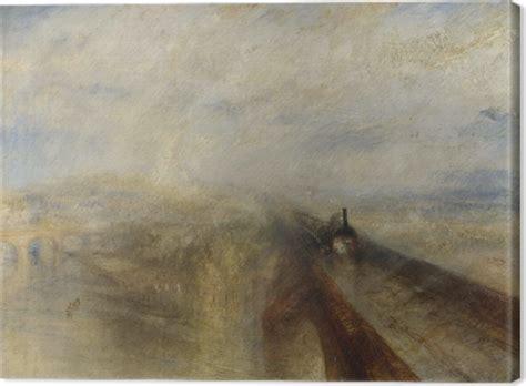 cuadros de turner cuadro en lienzo william turner lluvia vapor y