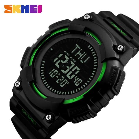 Skmei Jam Tangan Kompas Digital Pria 1300 skmei jam tangan digital pria dengan kompas 1259 black jakartanotebook