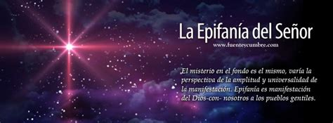 la decisin del seor la epifan 237 a del se 241 or fuente y cumbre