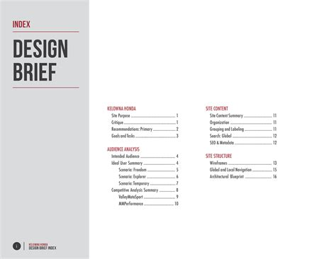Design Brief Proposal | architecture design brief architecture design brief