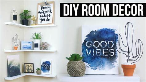 diy floating shelves room decor pinterest inspired