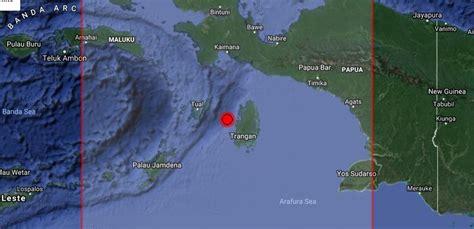 earthquake prediction indonesia earthquake prediction 5 5r in kepulauan aru region indonesia