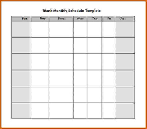 search results for blank employee weekly work schedule