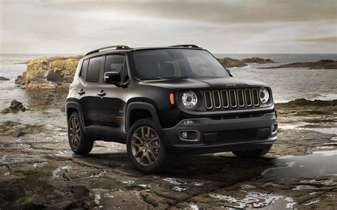 black jeep renegade 2016 jeep renegade 75th anniversary wallpaper hd car