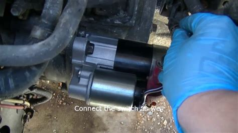 2002 nissan xterra starter 2002 nissan maxima how to replace the starter starter