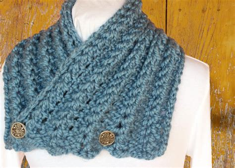 pattern for thick yarn scarf chunky knit scarf pattern button cowl patterns chunky yarn