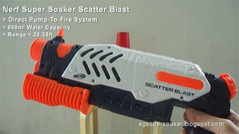 Nerf Soaker Scatter Blast nerf soaker scatter blast demo test