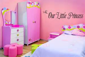 About our little princess girls bedroom wall art decal decor 28