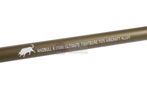 Madbull Ultimate 601 509mm madbull ultimate 6 01mm tight bore barrel 7075 aluminium 509mm buy airsoft accessories