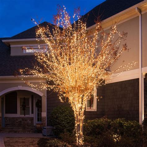 howto wrap christmas lights around tree branches 100 clear tree mini lights 4 quot spacing green wire trees glow and the o jays
