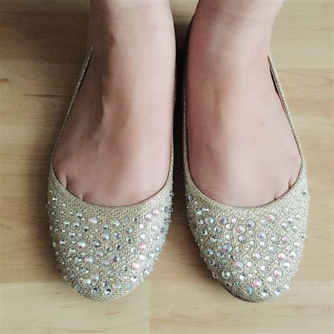 bedazzled flat shoes 62 by miller shoes bedazzled