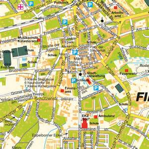 European Home Design Map Finsterwalde Brandenburg Germany Maps And