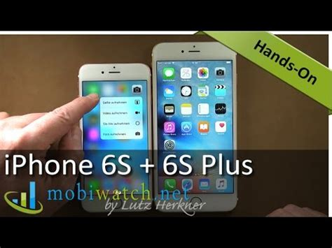 iphone 6s 6s plus impressions and on