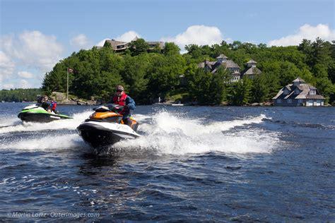 boat tour huntsville muskoka sea doo tour video ontario ride intrepid cottager