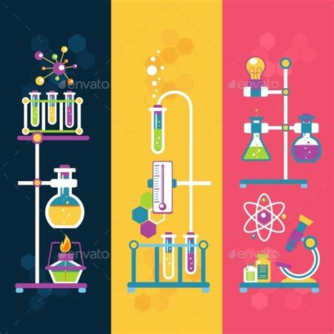 design for powerpoint chemistry chemistry design banners by macrovector graphicriver