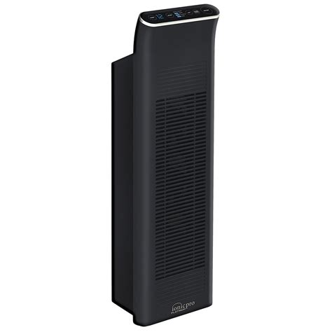 ionic pro 90ip01ua01 black tower air purifier 600 square