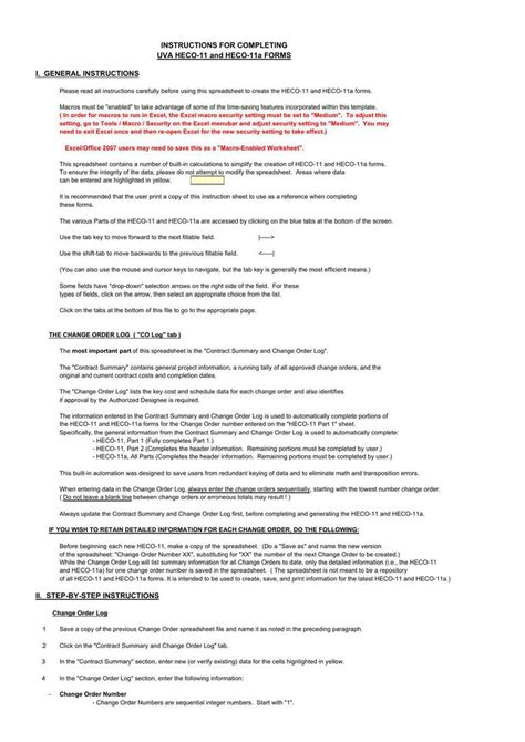 contract summary template change order template free premium templates