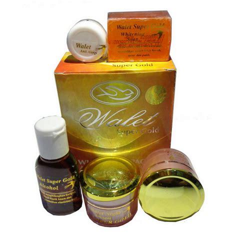 Walet Gold Serum jual walet premium gold whitening complete original