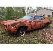 Rusty Muscle 1969 Pontiac GTO Judge