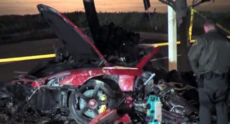 paul walker porsche fire carscoops fast and furious posts