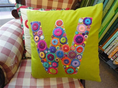 Felt Applique by Wendy S Quilts And More Wool Felt Applique Cushions